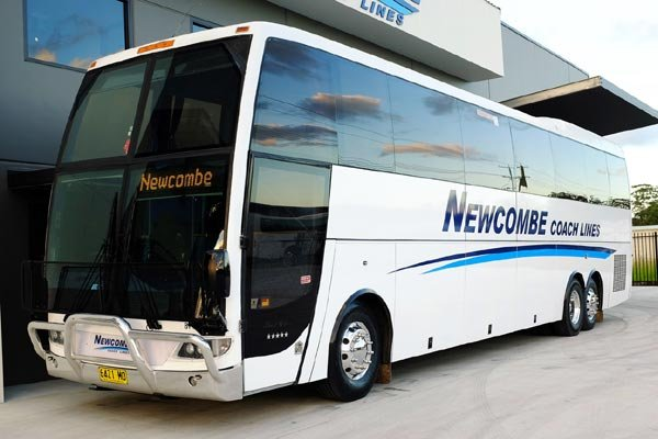 52 Seat Touring Coach « Newcombe Coach Lines